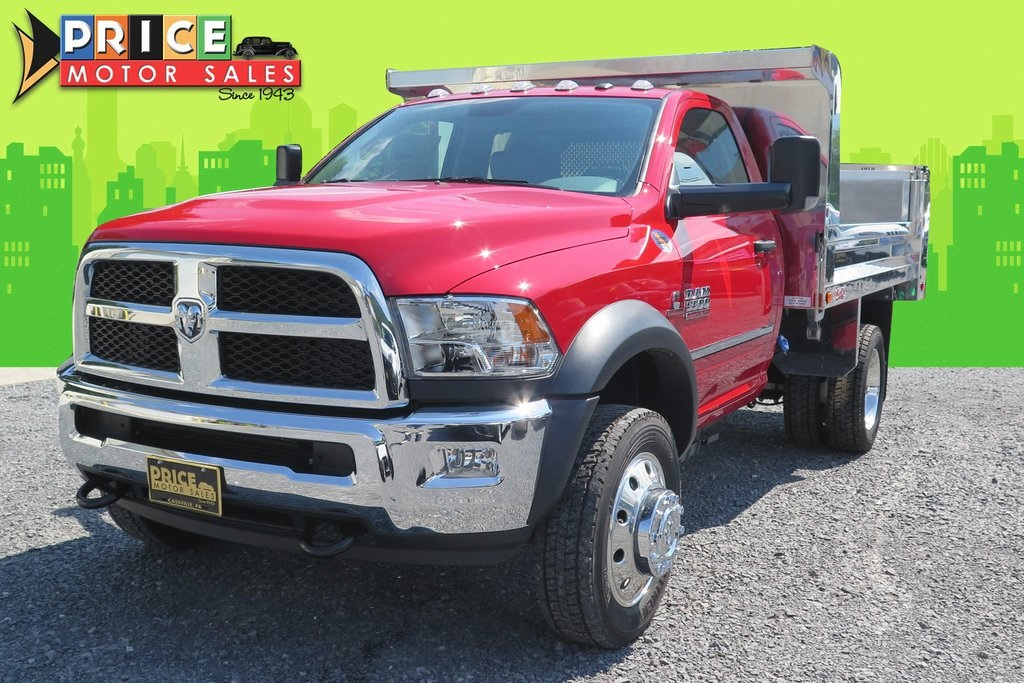NEW 2017 RAM 5500 TRADESMAN CHASSIS REGULAR CAB 4X4 144.5