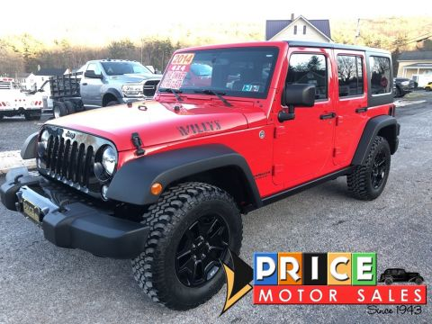 Pre-Owned 2014 Jeep Wrangler Unlimited Willys Wheeler